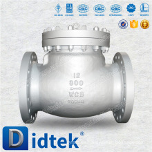 Válvula de retención de acero inoxidable fundido de alta calidad Didtek