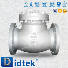 Didtek High Quality WCB Non Return Flanged Check Valve