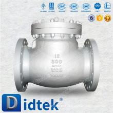 Válvula de retenção tipo aço de aço moldado Didtek de alta qualidade