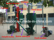 500kg/H Animal Poultry Feed Pellet Making Line/Pellet Production Line with CE