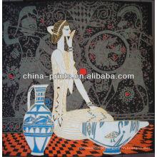 """Arte da pintura chinesa por atacado com menina """"sexy"""""""