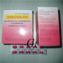 Comprimidos de ibuprofeno 200 mg