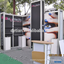 Exhibiition aluminum trade show display , exhibition booth design and fabrication