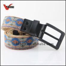 2014 Ethnic Style Jean Canvas Belts for Men's Jean Canvas Belts