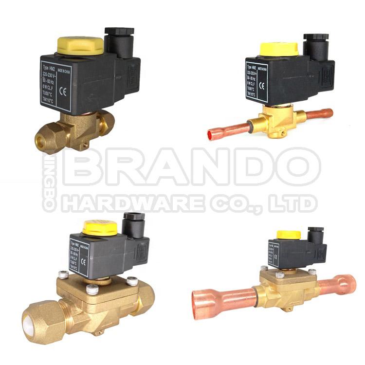 castel refrigeration solenoid valve