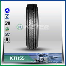 famous Chinese Keter brand 275/70R22.5 steer pattern KTHS5 truck tyre have ECE DOT ISO