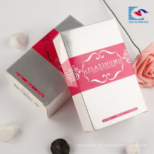 kundenspezifischer kosmetischer Logodruckpapierparfüm-Verpackungskasten