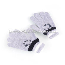 100% guantes de invierno de cachemira