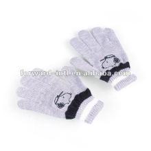 100% кашемир зимние перчатки