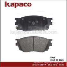 High Performance Car Brake Pads for MAZDA D755 G1YC-33-28ZB