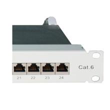 Модульная патч-панель Cat6 24port