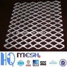 Malla de metal expandido de aluminio / Malla metálica de acero inoxidable / Malla metálica de acero galvanizado