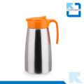 Hervidor de agua fría de acero inoxidable de 304 colores y pote de té con tapa de plástico