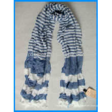 Высококачественная подходящая цена walmart полосатый шарф