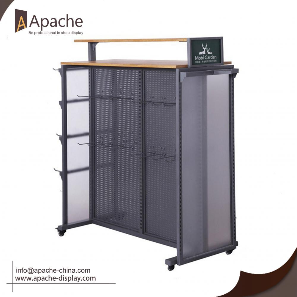 Clothes shoppingmall display stand for retailer