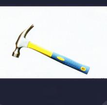 プラスチック コーティング ハンドル付き爪ハンマー