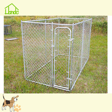 Customizable Galvanized Metal Pet Dog Kennel Cage