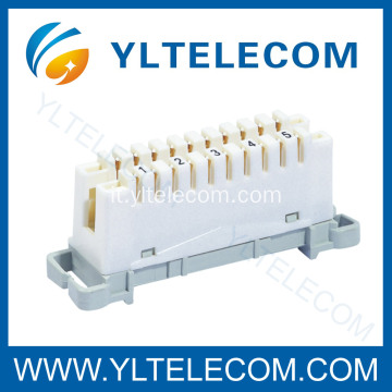 5 accoppiamenti Krone LSA Connection Disconnection Module Supporto posteriore