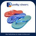 Neuer Damen-Streifen-Druck-Sommer-hawaiischer Flipflop-Strand-Abnutzung