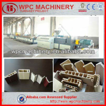 wpc door frame machine wpc machine qingdao