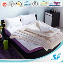 Diseño moderno de poliéster blando relleno colchón Topper