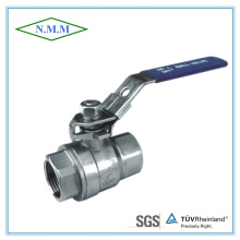 Stainless Steel Threaded End 2PC Ball Valve in 1000wog