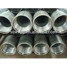 ASTM A53 verzinktes nahtloses Stahlrohr mit Gewinde und Kupplung