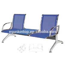 Chair and desk without armrest for commerical used, For office/ Hospital, Aluminum armrest and legs finishing (KS5DH-3)