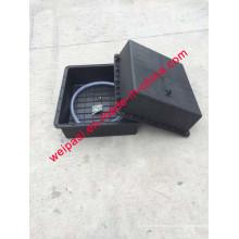2PCS * 120A batería solar caja de tierra subterráneo caja de batería impermeable solar