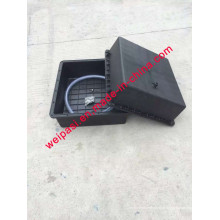 Batterie solaire 2PCS * 120A Batterie solaire Boite de batterie étanche solaire étanche