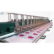 Mezclado 20 cabezas Chenille / máquina de bordar de punto de cadena