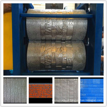 Painel do falso composto de alumínio com isolamento de linha de produção de gravação
