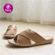 Pansy Comfort Shoes Slippers Anti-skidding Massage Indoor Slippers For Man