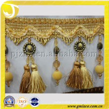 curtain tassel fringe with handmade beaded tassel tablecloths