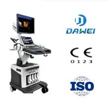 Portátil / carrinho de ultra-som scanner de preço e cor doppler ecografos com mão livre 4D USG preço barato