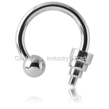 Circular Barbell with Ball& Small Dumbbell