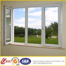 Ventana de PVC y puerta / ventana de plástico con doble vidrio