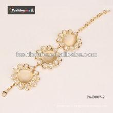 Bracelet d'alliage modèle tournesol