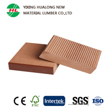Solid WPC Decking with CE, SGS Certification (HLM128)