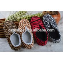 Leopard oder Zebra Druck neue Design 2016 Indoor Slipper bootie Winterschuhe