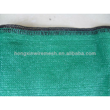 Green shade net with black wire (high quality)