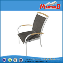 Stackable Aluminium Metal Garden Leisure Chair