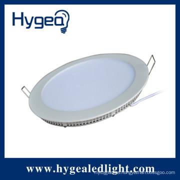 9W back lit , round led panel light