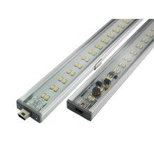 CE rígido & RoHS da base de USB das tiras do diodo emissor de luz da CC 50cm 7W SMD3014 de 10-30V