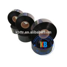 impressão de etiquetas de vestuário compatível lavar preto térmico impressora de tinta fita
