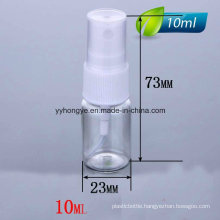 High Quality 10ml Pet Sprayer Bottle/Cosmetic Bottle