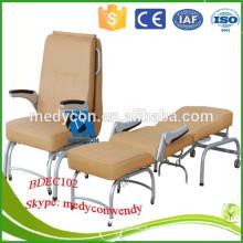 Hospital plegable con colchón cómodo acompañan silla