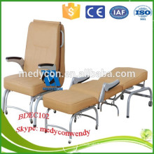 Foldable hospital with comfortable mattress accompany chair