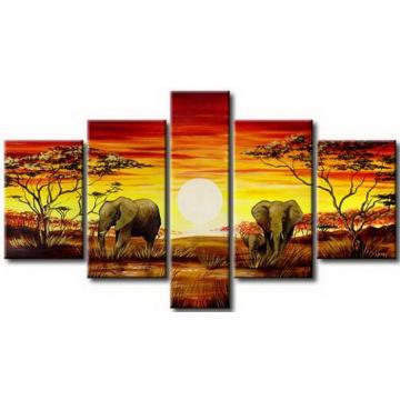 Dernier Art Décoratif Paysage Peinture à l'huile