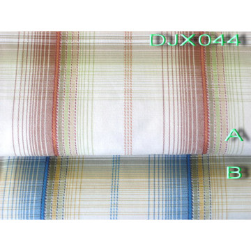 Mans Polyester Cotton Yarn Dyed Shirt Fabric Djx044